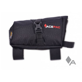 Acepac Roll Fuel Frame Bag Borsello nero